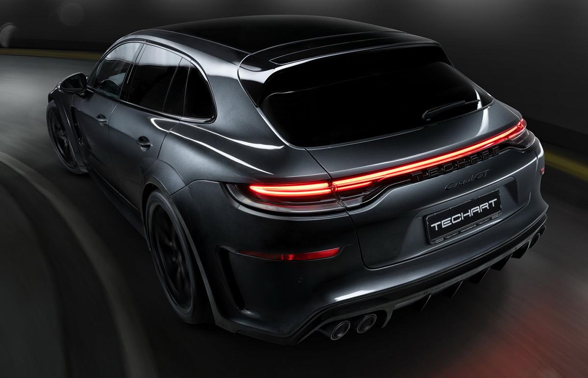 Porsche Panamera Sport Turismo Techart Grand GT