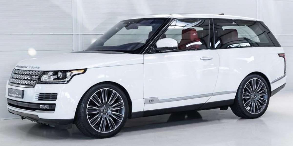 2018 Range Rover Adventum Coupe