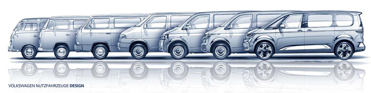 Volkswagen Transporter ewolucja