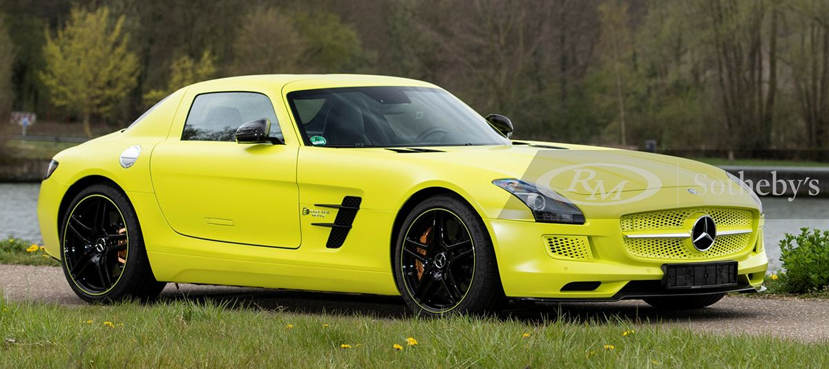 2013 Mercedes-Benz SLS AMG Coupe Electric Drive