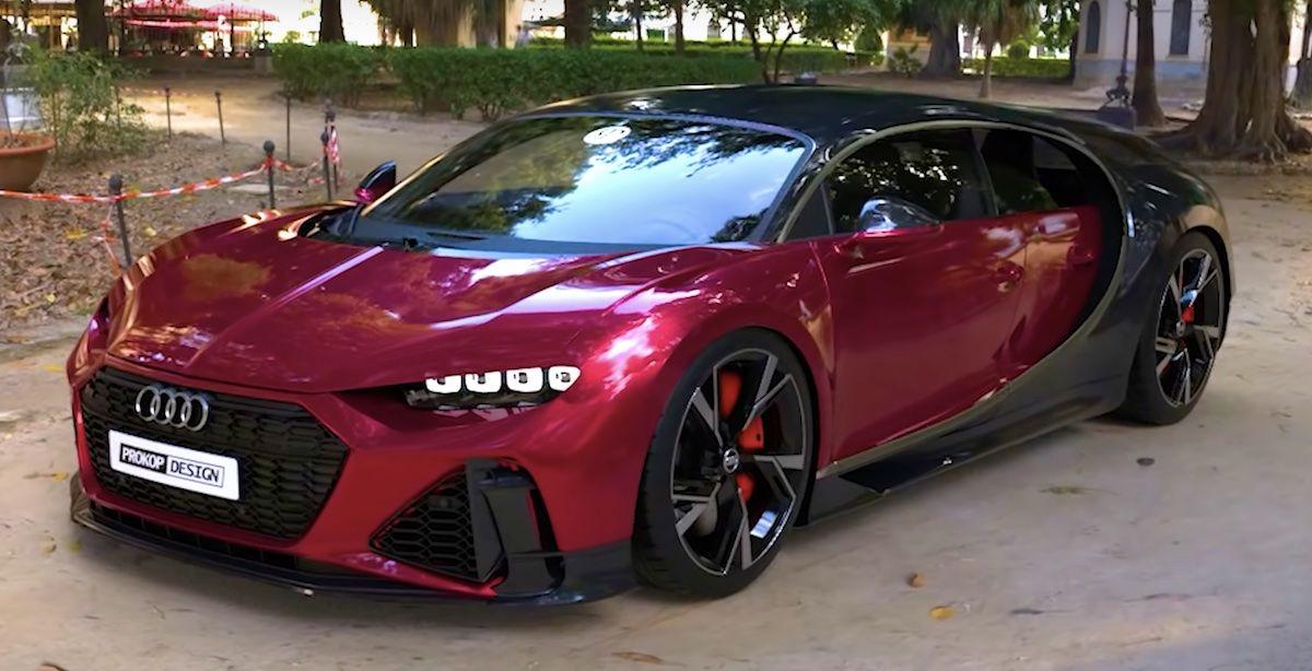 Audi RS6 Bugatti Chiron