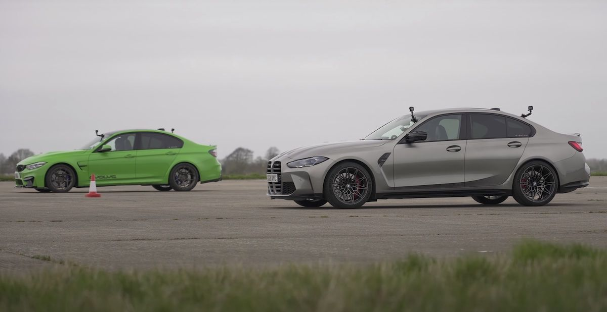 BMW M3 Competition G80 vs BMW M3 Competition F80