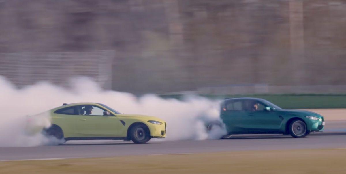 BMW M3 Competition M4 drift