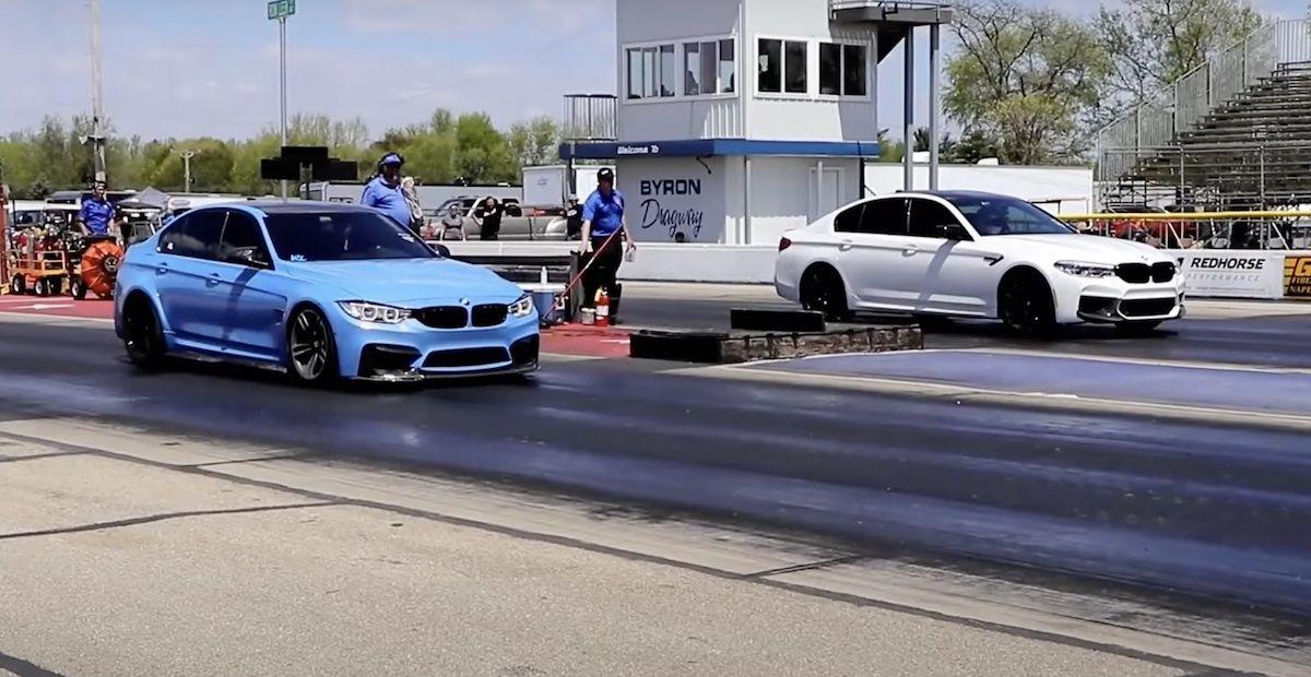 BMW M5 F90 vs BMW M3 F80