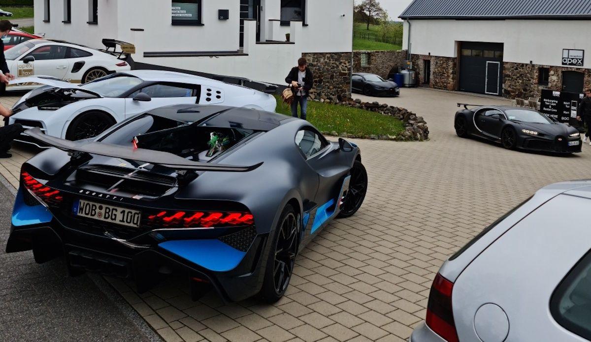 Bugatti Chiron Pur Sport Divo Centodieci Super Sport 300+ Nurburgring