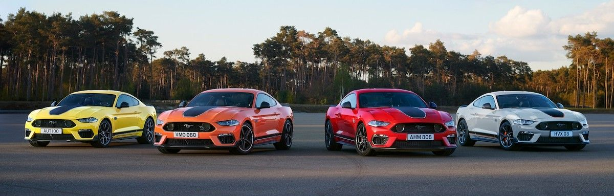 2021 Ford Mustang Mach 1
