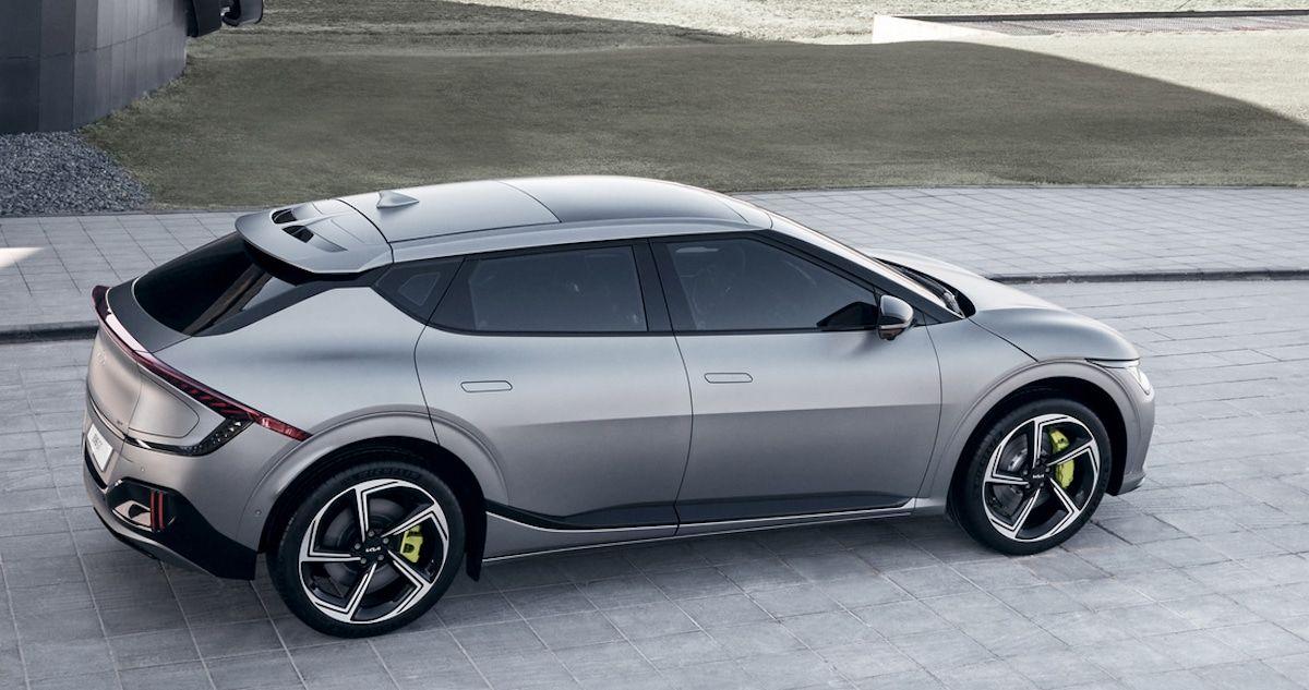 Kia EV6 GT (2021), bok