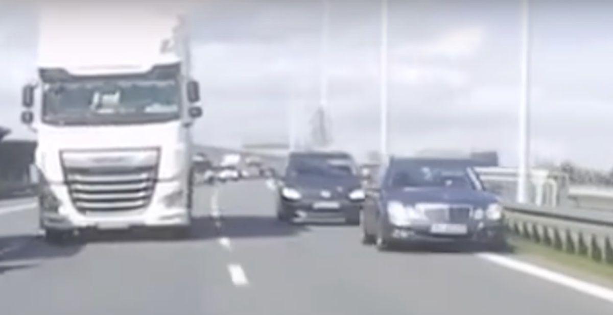 Mercedes Klasy E Volkswagen Touran