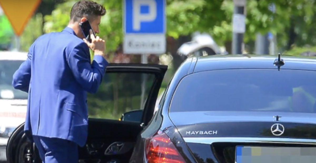 Mercedes-Maybach S560 Robert Lewandowski