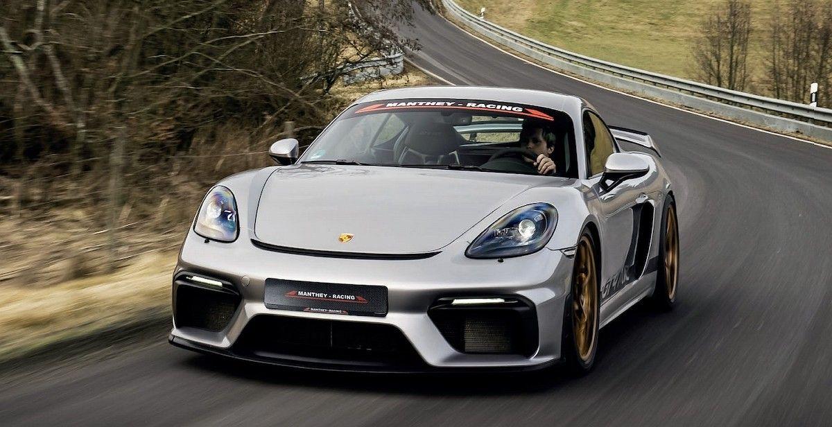 Porsche 718 Cayman GT4 Manthey Racing