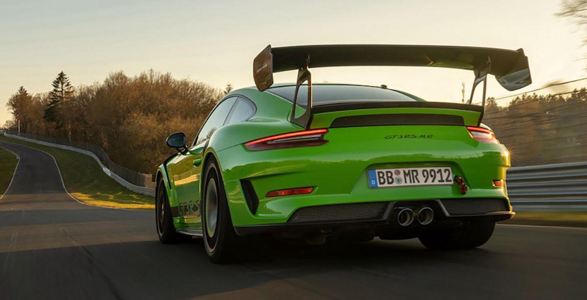 Porsche 911 GT3 RS 991.2 Manthey Racing