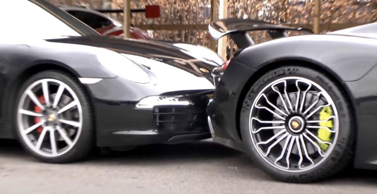 Porsche 918 Spyder Porsche 911 991