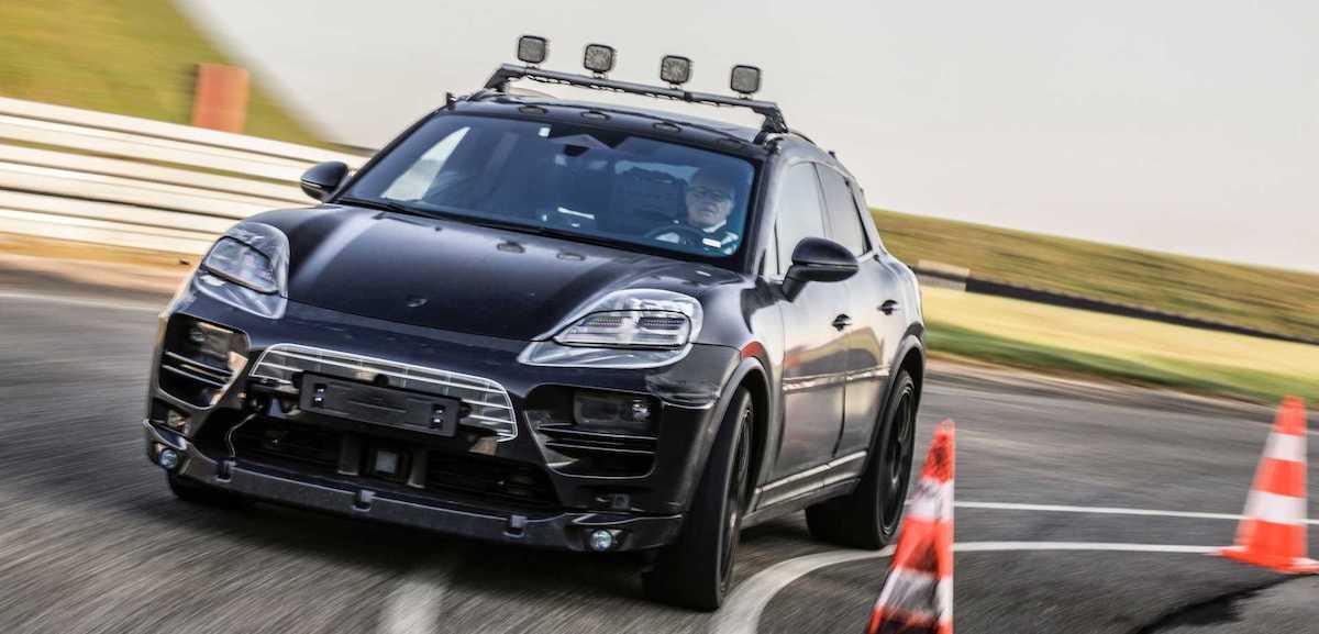 Porsche Macan elektryczny