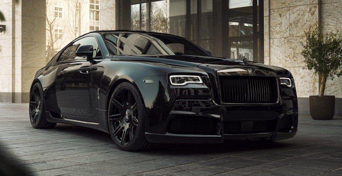 Rolls-Royce Wraith Black Badge Spofec Overdose
