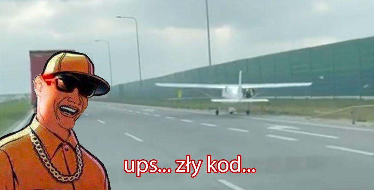 autostrada a1 samolot
