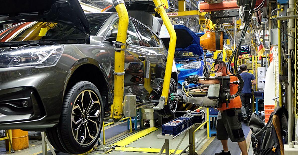 Ford Focus Linia produkcyjna