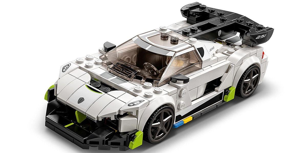 Koenigsegg Jesko LEGO Speed Champions