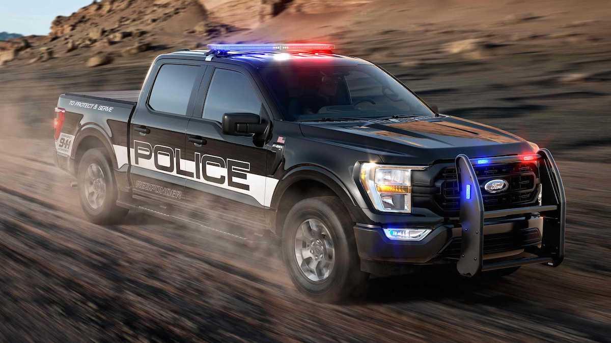 2021 Ford F-150 radiowóz