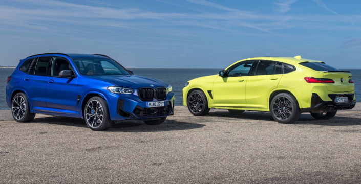 2022 BMW X3 M Competition BMW X4 M Competition