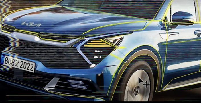 2022 Kia Sportage rendering