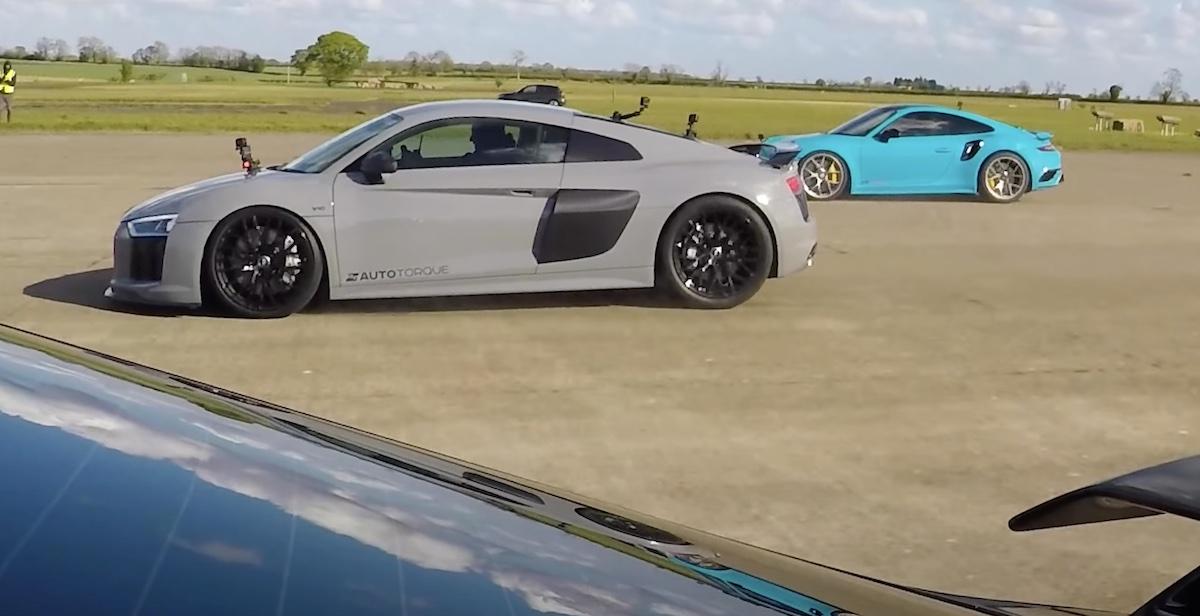 Audi R8 V10 Porsche 911 Turbo S 991 Audi TT RS