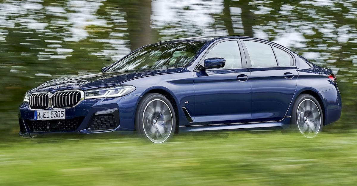 BMW 540i xDrive G30 2021