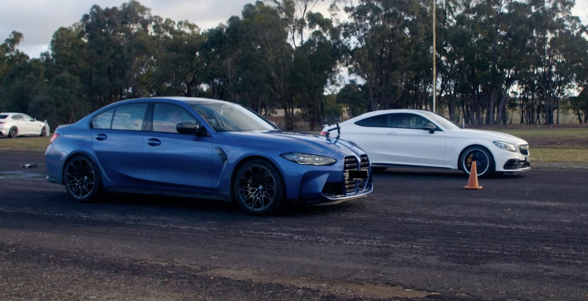 BMW M3 G80 Competition vs Mercedes-AMG C63 S Coupe