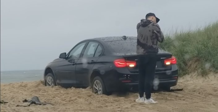 BMW Serii 3 xDrive plaża