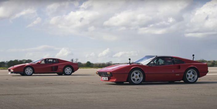 Ferrari Testarossa vs Ferrari 308 GTS