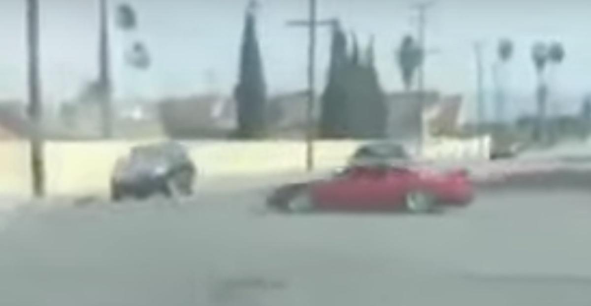 Honda NSX wypadek