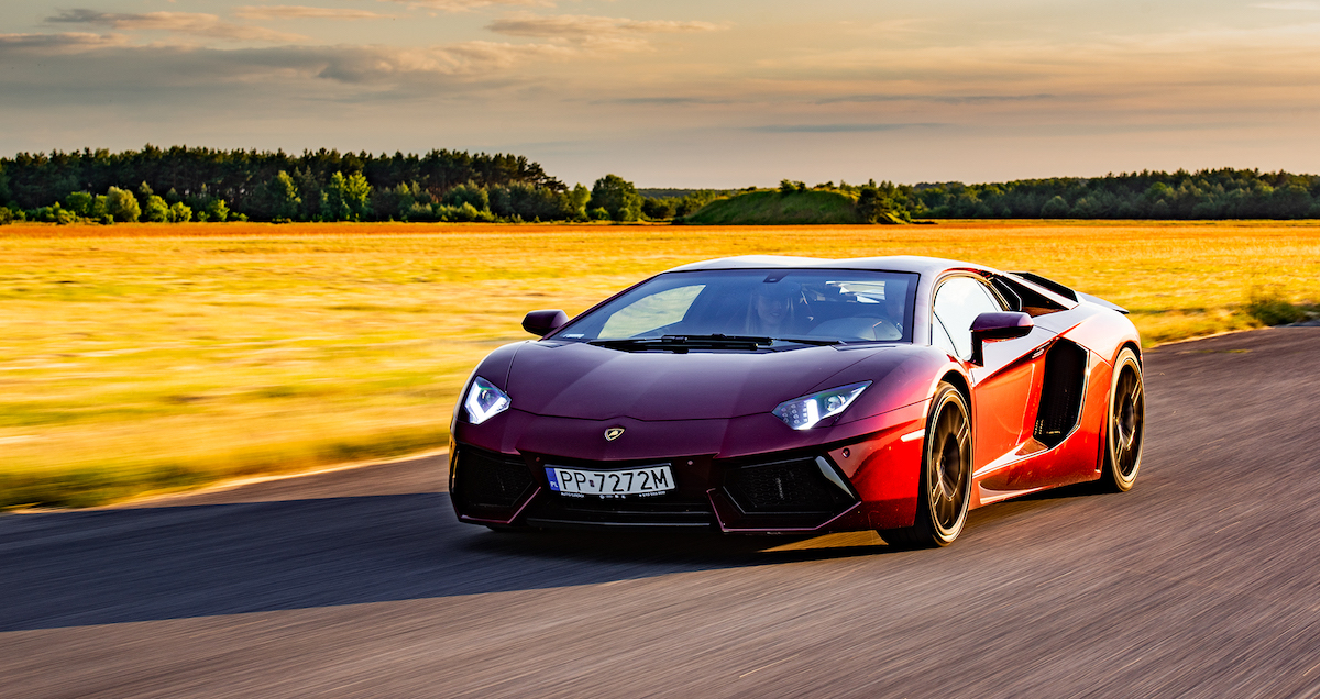 Lamborghini Aventador replika