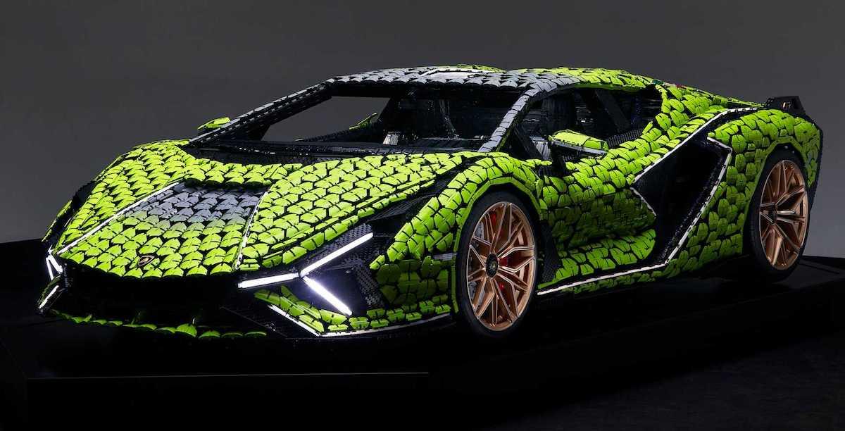 Lamborghini Sian FKP 37 LEGO Technic
