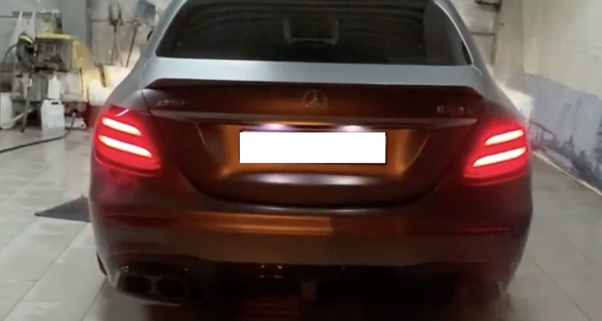 Mercedes-AMG E63 S 4MATIC+ brabus