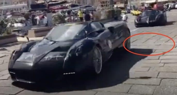 Pagani Huayra Roadster Pagani Zonda