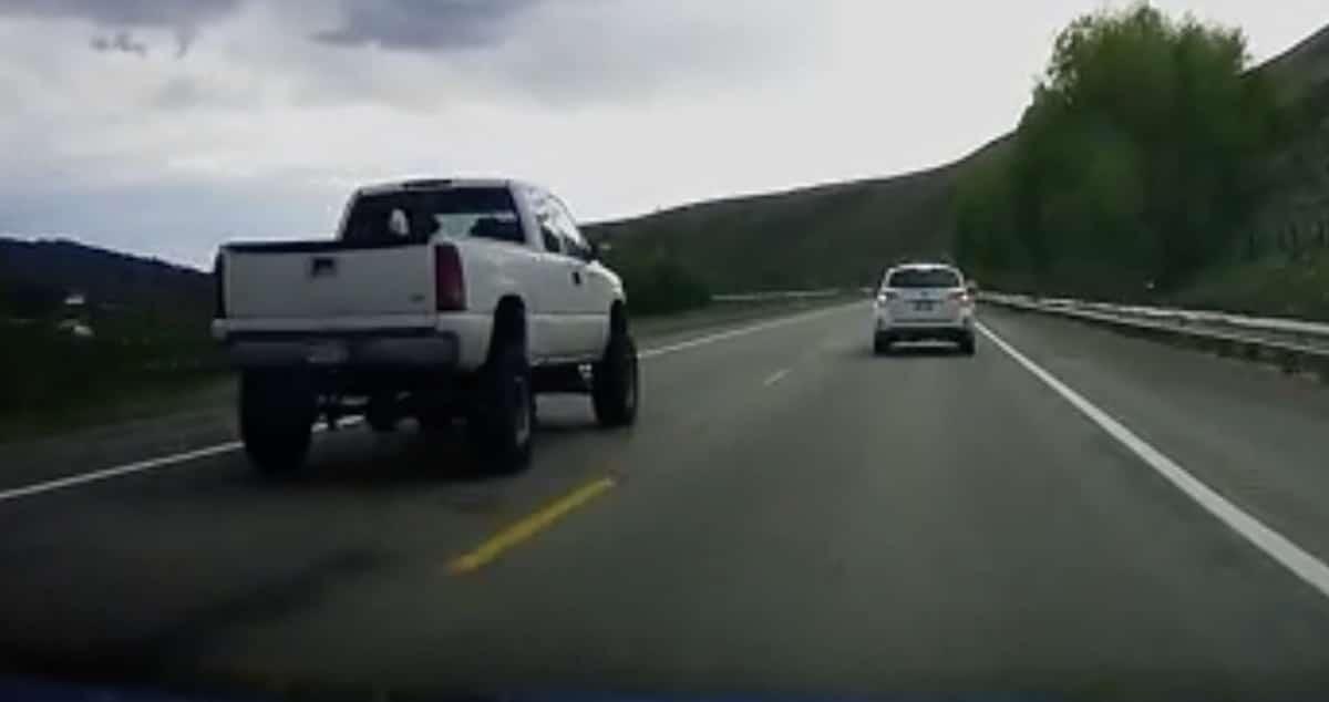 wyprzedzanie pickup