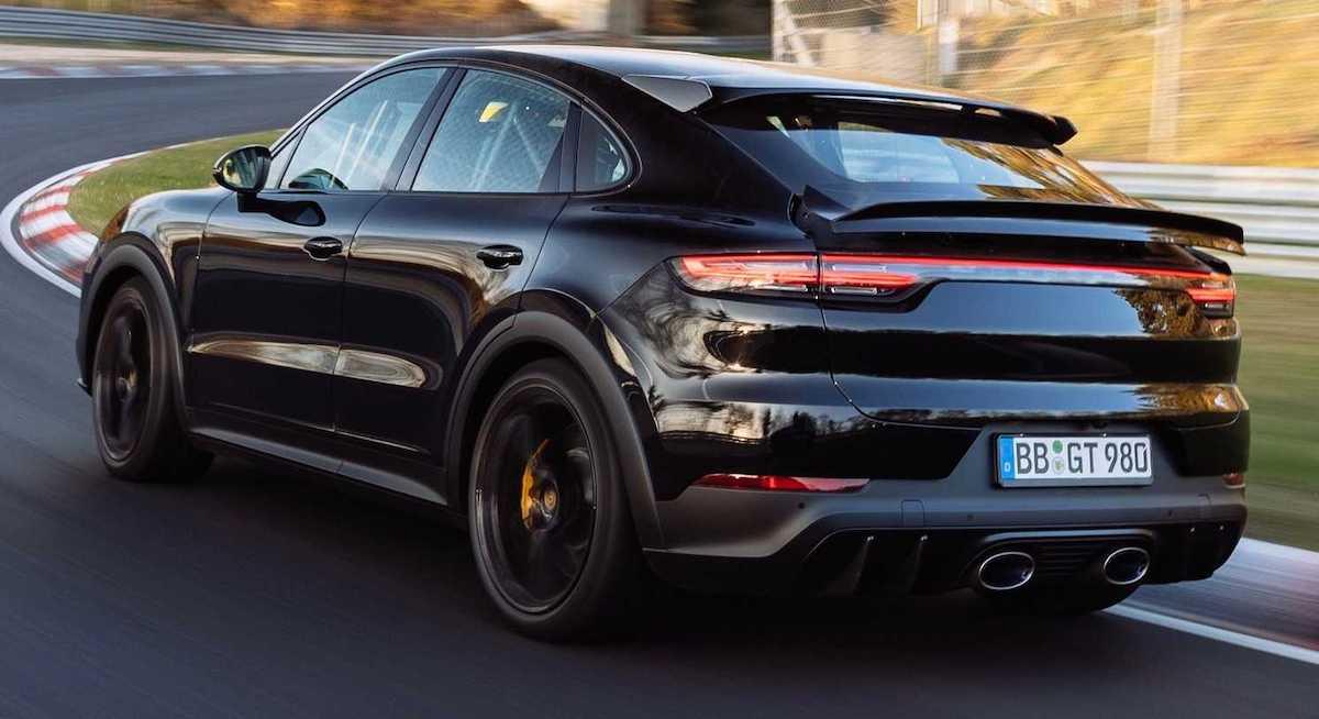 Porsche Cayenne Coupe nurburgring
