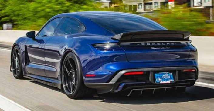 Porsche Taycan Turbo Vivid Racing