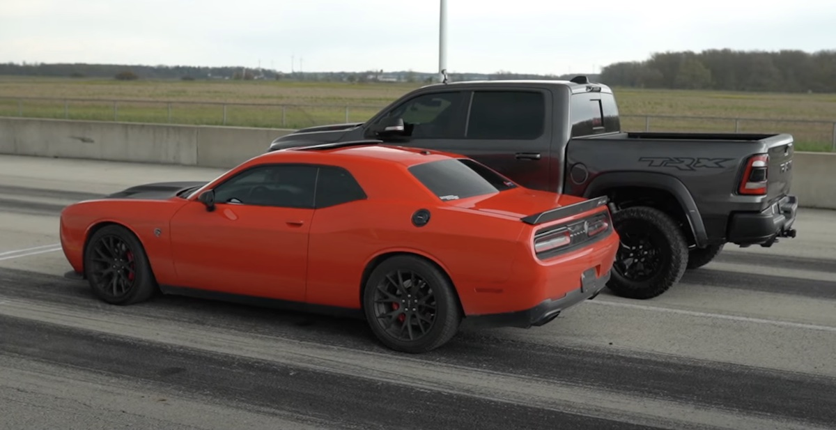 RAM 1500 TRX vs Dodge Challenger SRT Hellcat