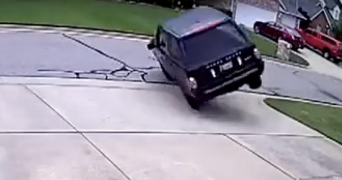 Range Rover dachowanie