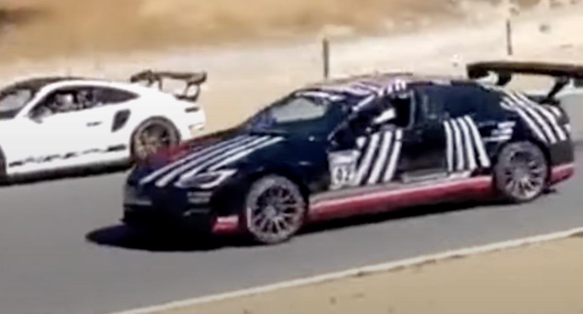 Tesla Model S Plaid Performance