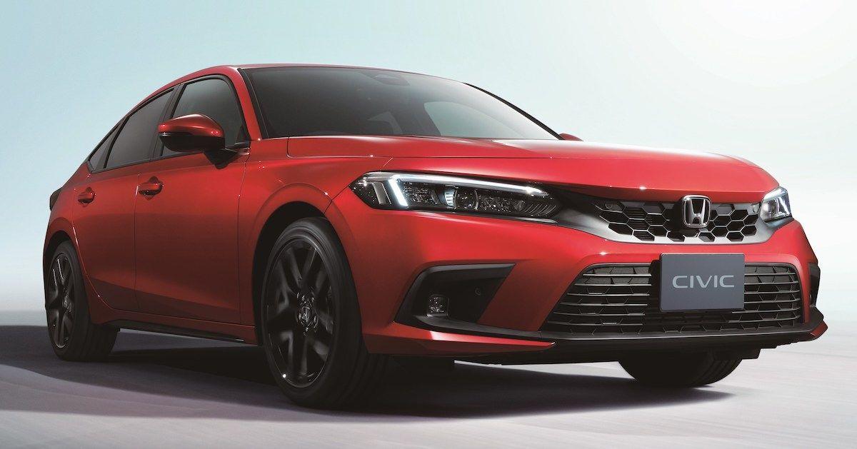 2022 Honda Civic Hatchback e:HEV