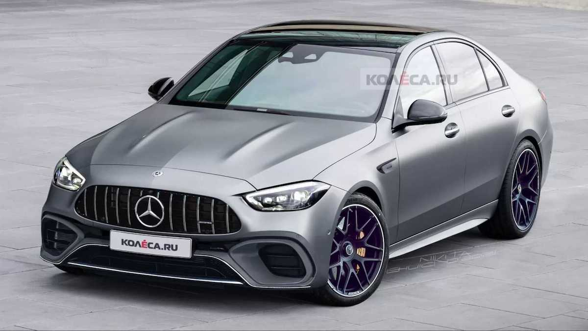 2022 Mercedes-AMG C 63 4MATIC+