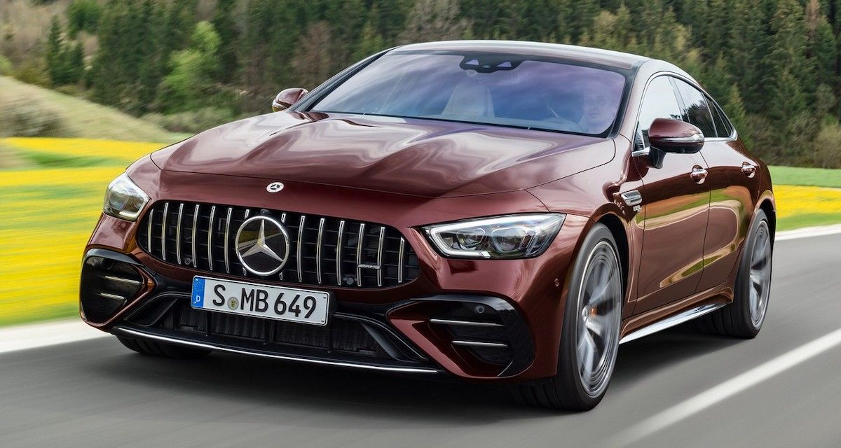2022 Mercedes-AMG GT 53 4-drzwiowe Coupe
