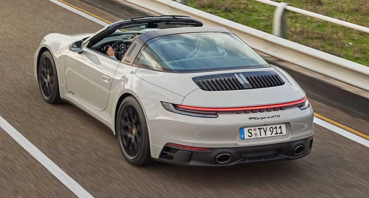 2022 Porsche 911 Targa 4 GTS