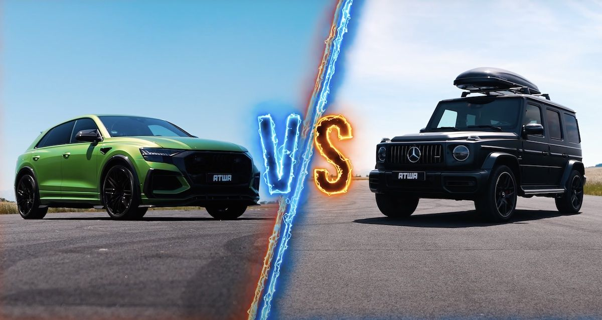 ABT Audi RSQ8-R vs Mercedes-AMG G 63