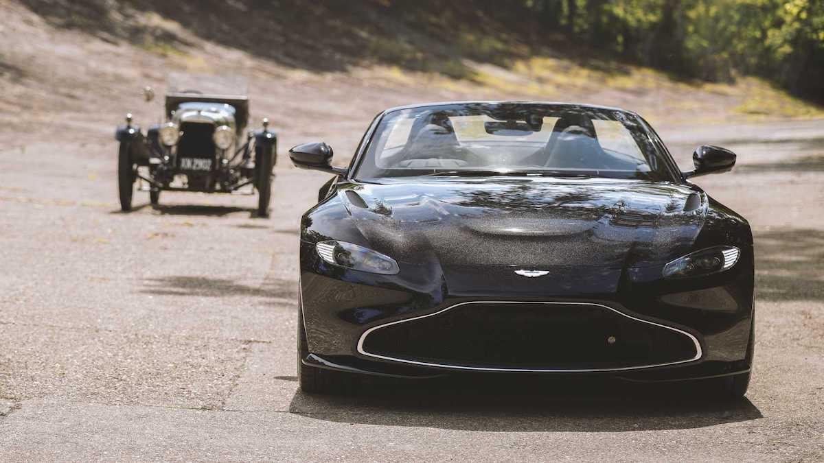 Aston Martin Vantage V8 Roadster A3 Edition