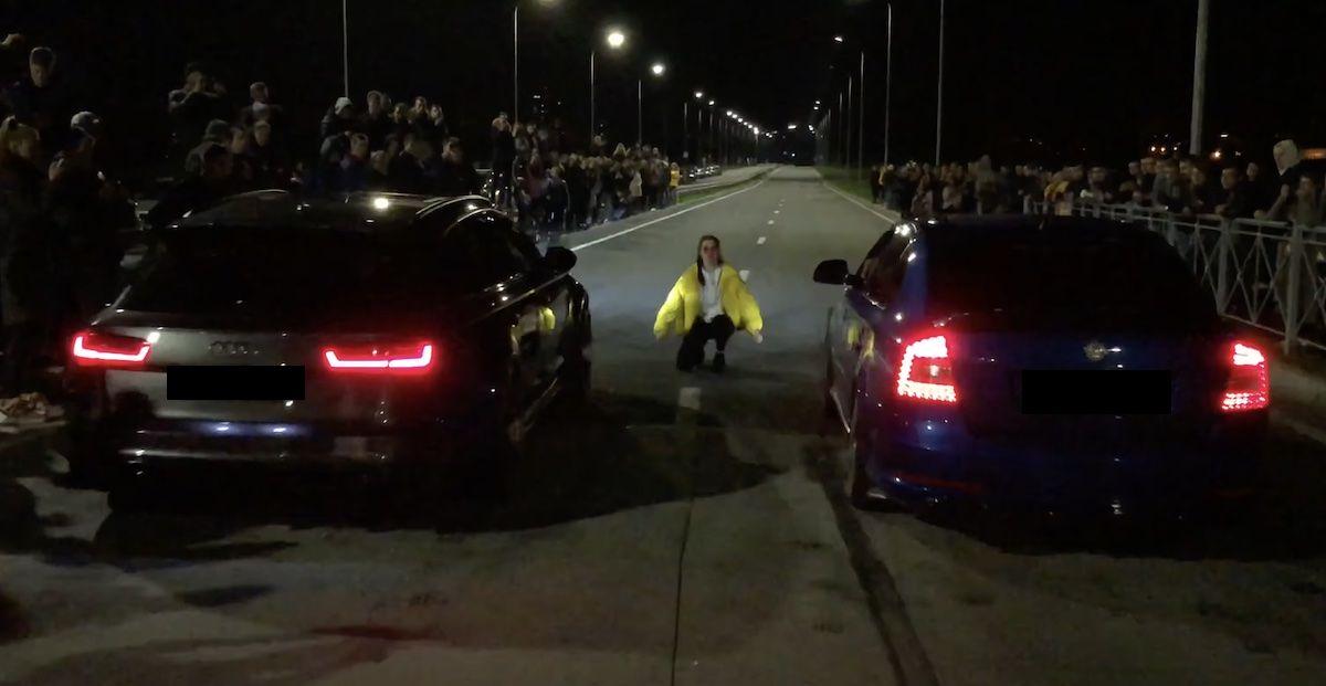 Audi RS6 vs Skoda Octavia VRS