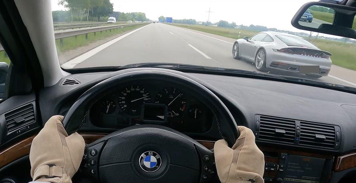 1998 BMW 528i e39 Porsche 911 992