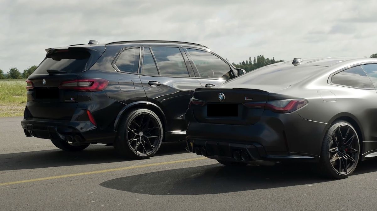 BMW M4 Competition vs BMW X5 M Competition