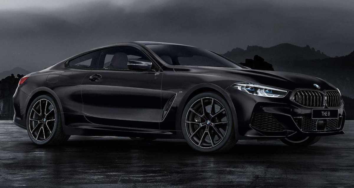 BMW Serii 8 Coupe Frozen Black Edition